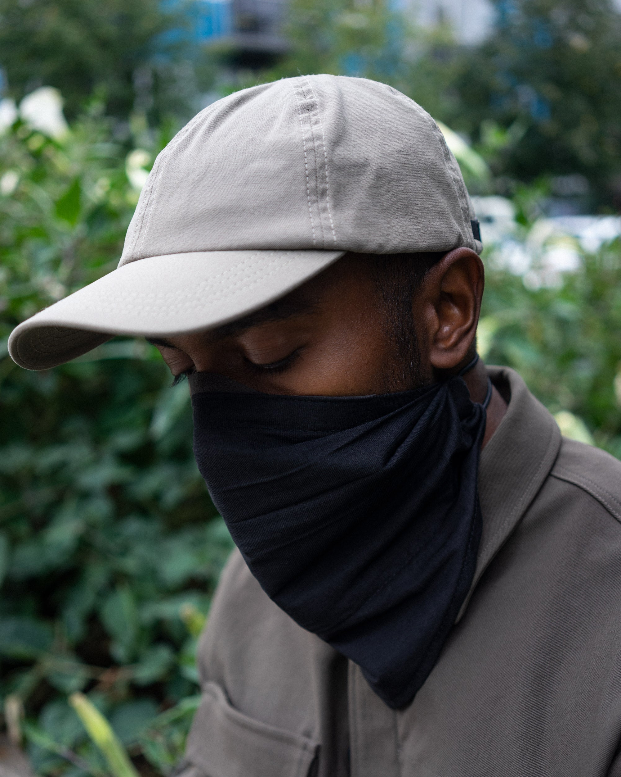 Mask 001 - Ultrasuede Snaptight