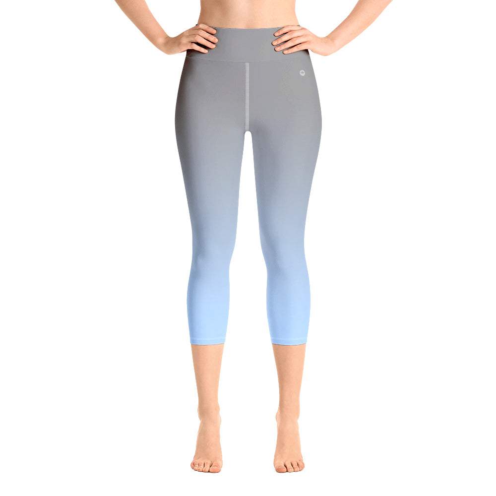 LUNA High-Waist Gradient Capri