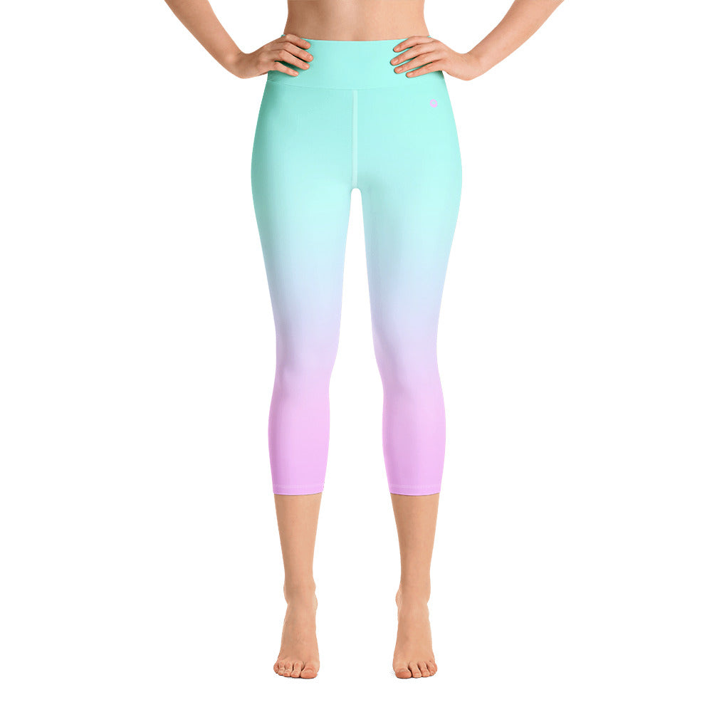 LUNA High-Waist Colorshift Capri
