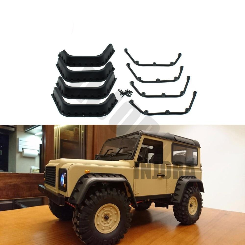 Black Fender Flares RC Body Shell Parts