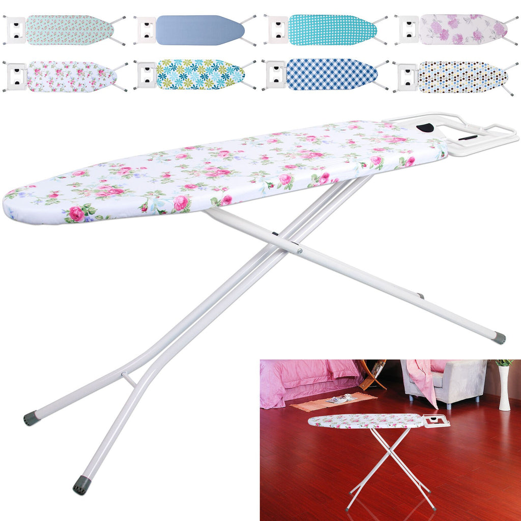 Metal Ironing Board Folding Height Adjustable Highlands Iron Rack 4 Style