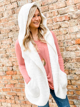 Load image into Gallery viewer, Snuggle Me Warm Vest - Ivory