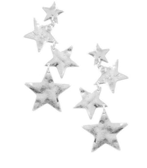 Seeing Stars Dangle Earrings- 2 colors available