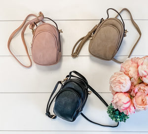 Girl Next Door- Vegan Crossbody Bag
