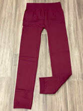 Load image into Gallery viewer, Regular Waisted Fleece Lined Leggings - One Size