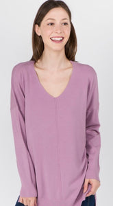 Dreaming For Days Sweater - Lilac