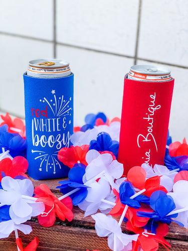 Amia Boutique Slim Can Koozie