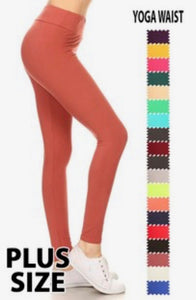 Buttery Soft Leggings-PLUS