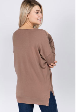 Beyond Great Dreamer Sweater - Falcon Brown