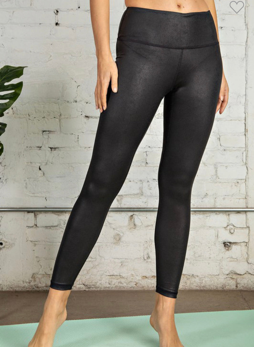 Renee High Waist Leggings- Black