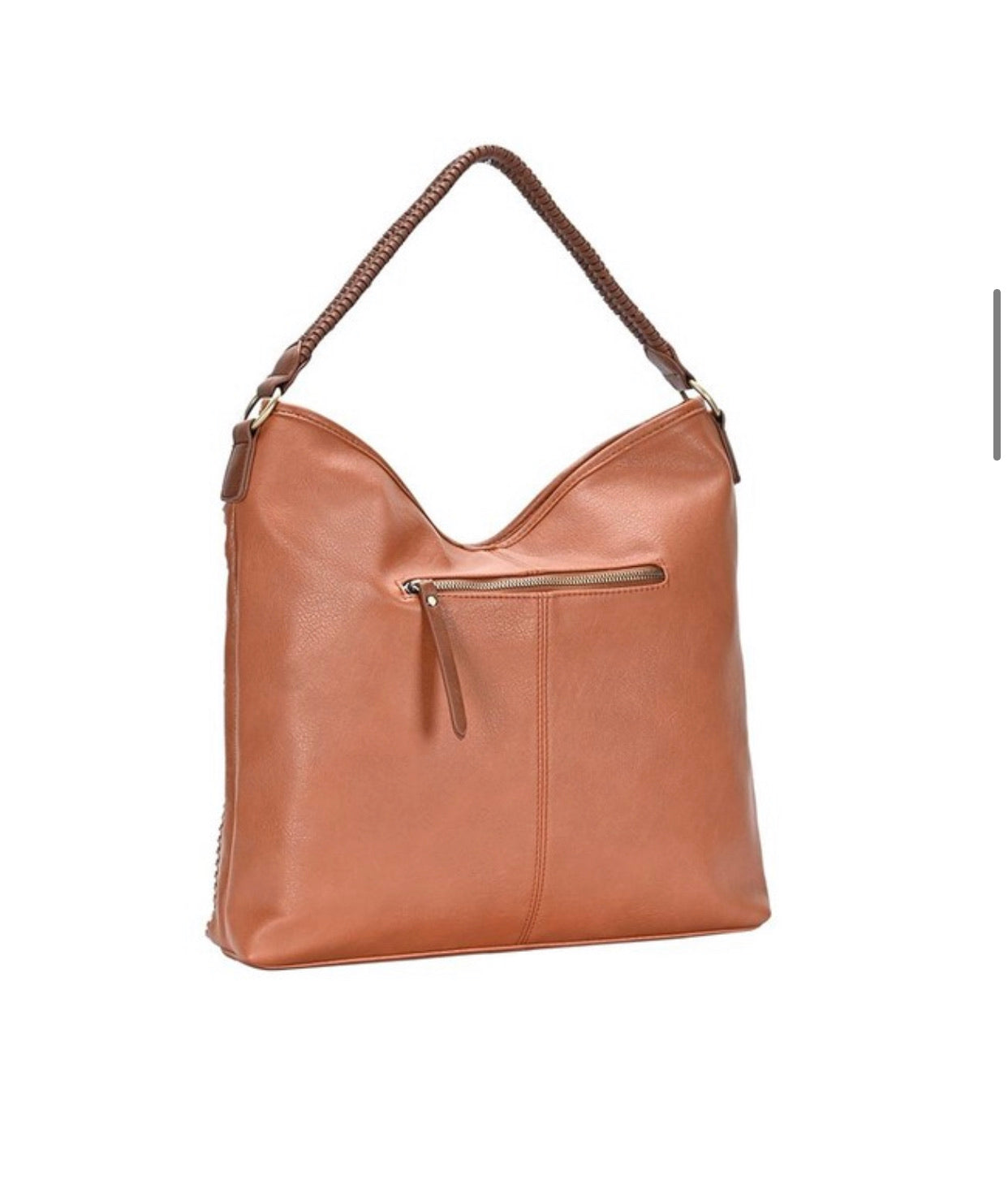 Braided Hobo Shoulder Bag - 2 Colors Available