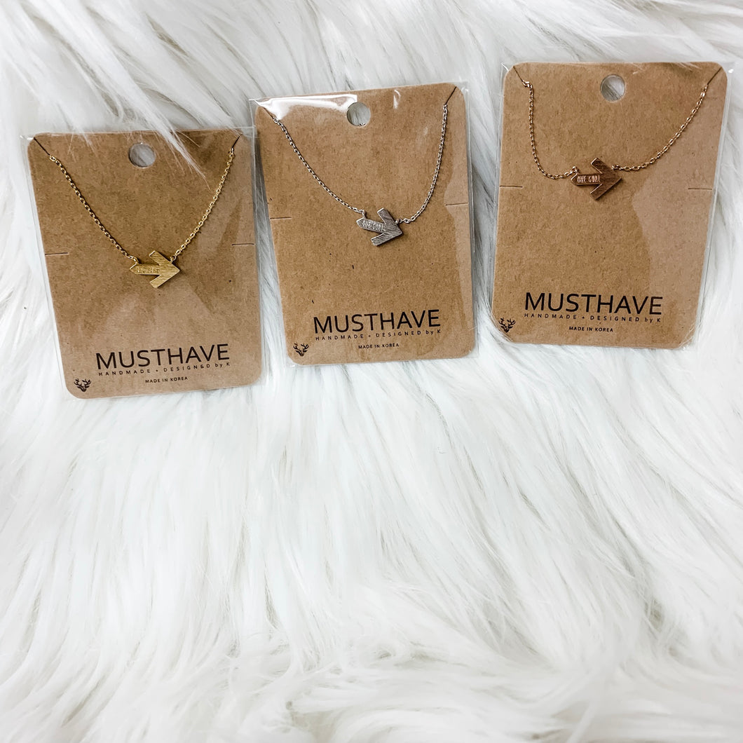 Must Have Arrow Necklace