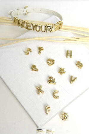 Spell It Out Gold Bracelet - 2 Colors