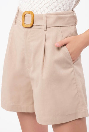 Discussing The Situation Shorts - Khaki