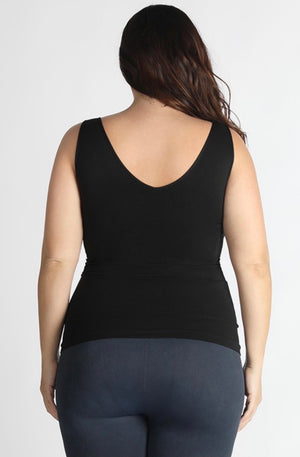 PLUS Size NIKIBIKI Reversible Seamless Regular Length Tank