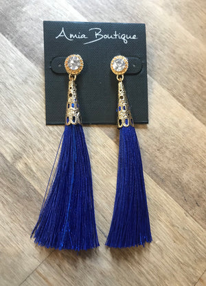 Island Blues Earrings- 2 Colors Available