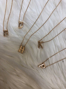 Dainty Letter Necklaces