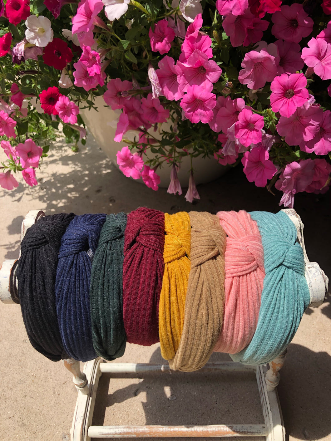 Colorful Knot Headbands