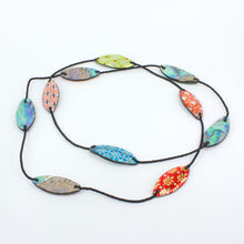 DH106: Paua foil necklace