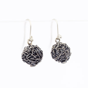 DH157: Balls of chaos earrings