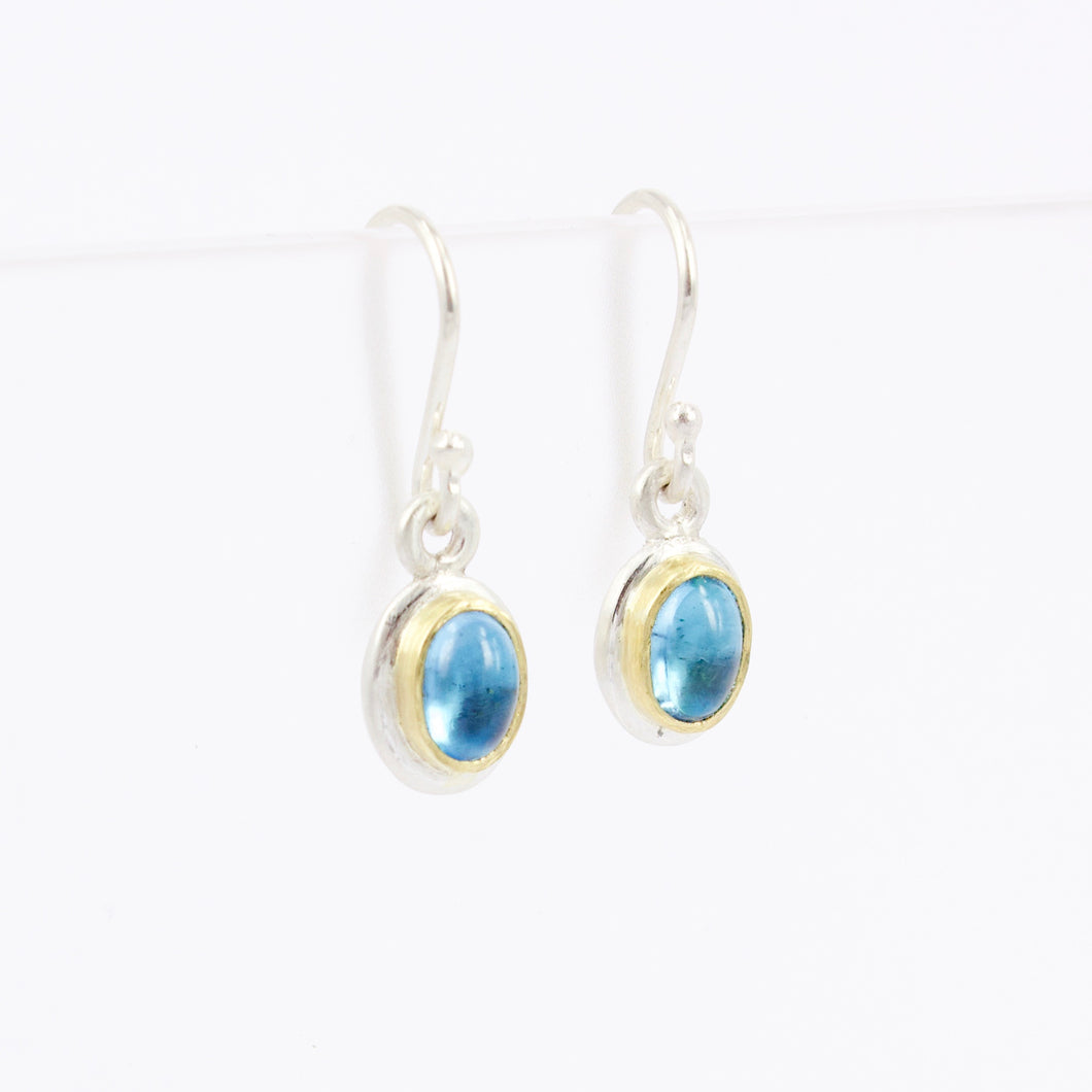 DM630B: Topaz drop earrings