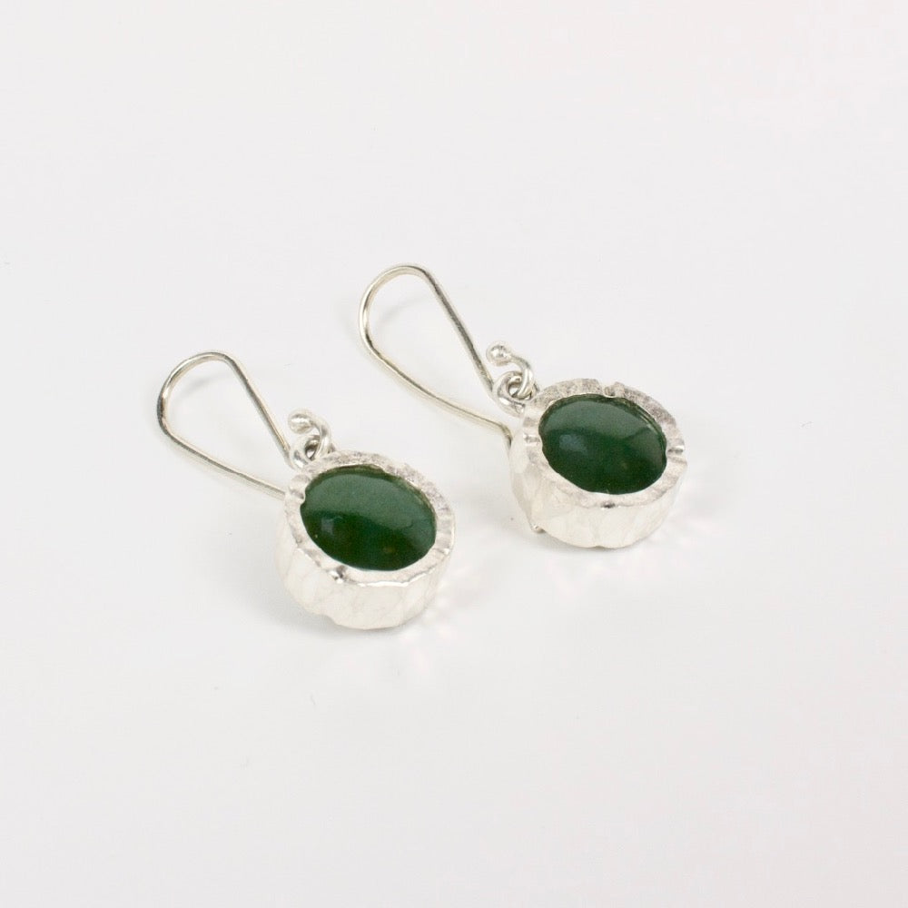 DM: Pounamu earrings