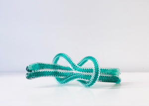 JCU: Love knot - teal green