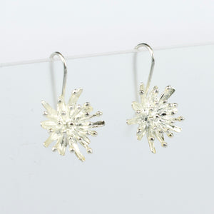 KS72: Mt Cook lily earrings