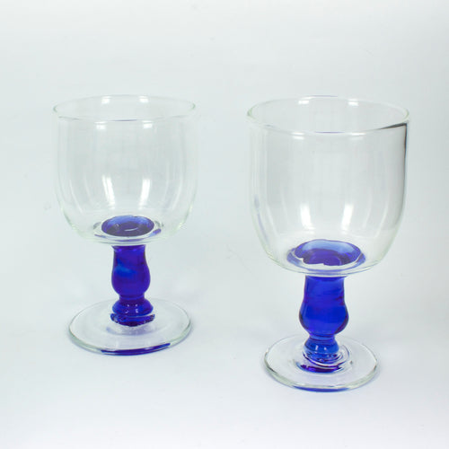 TK99: Blue stem goblet
