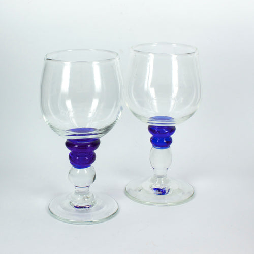 TK103: Blue stem goblet