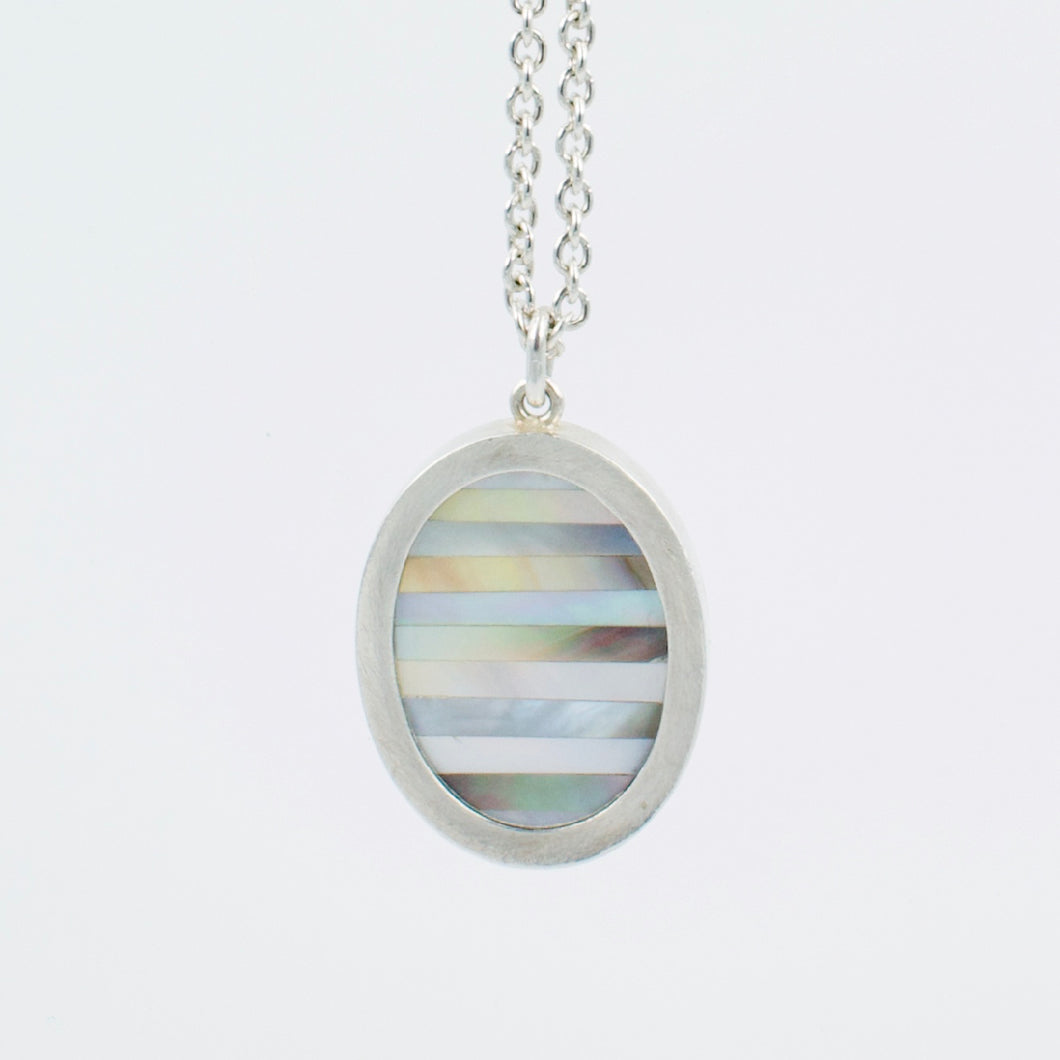 DM632: Mother of Pearl sampler pendant