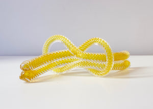JCU: Love knot - gold topaz yellow