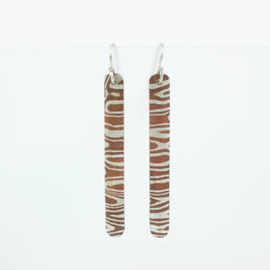 JD11: Mokume gane earrings