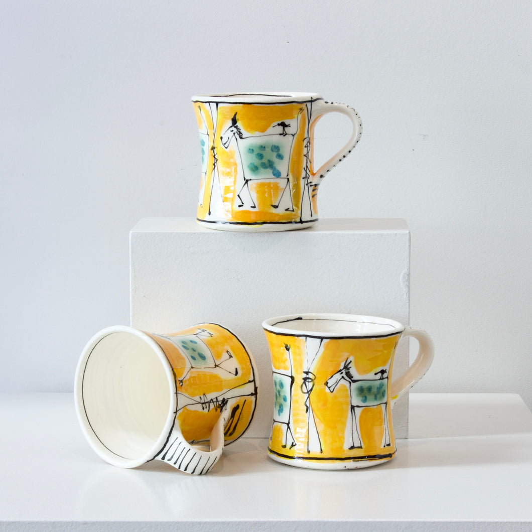 PH: Orange Animal mugs