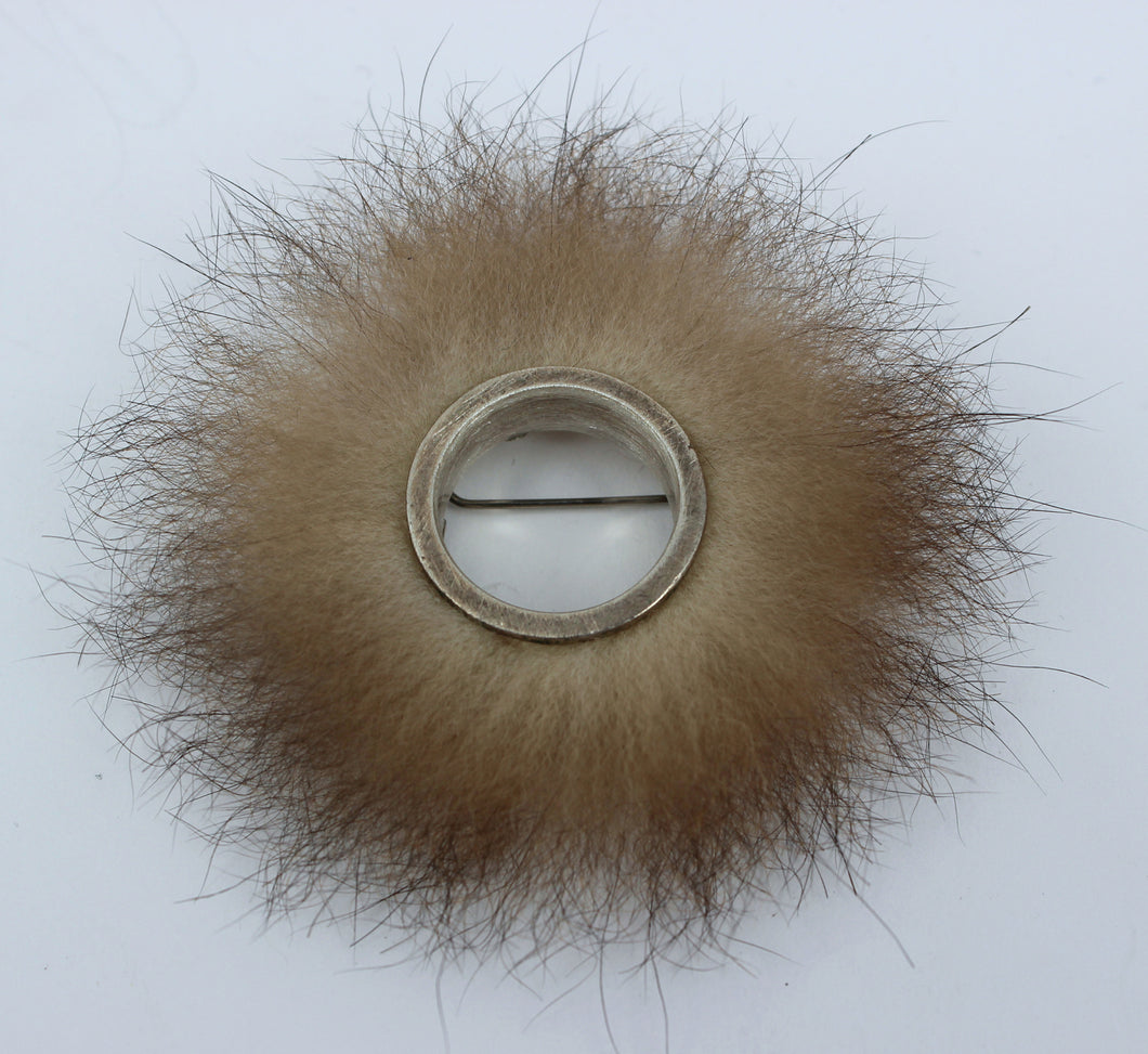 TB306: Possum nova brooch