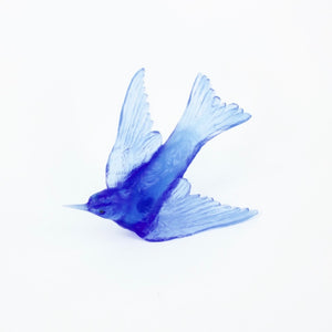 LJ: Welcome swallow - cobalt blue