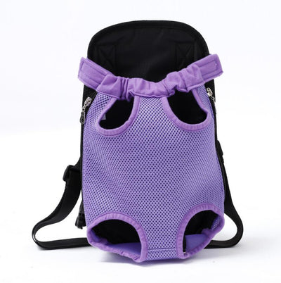 dog carrier backpack for hiking - Color Purple