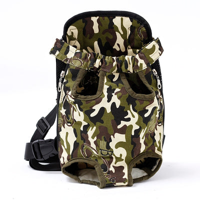 dog carrier backpack for hiking - Color Camouflage