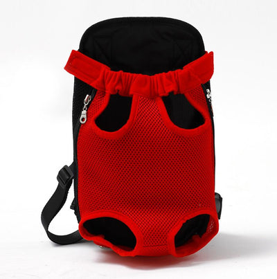 dog carrier backpack for hiking - Color Red