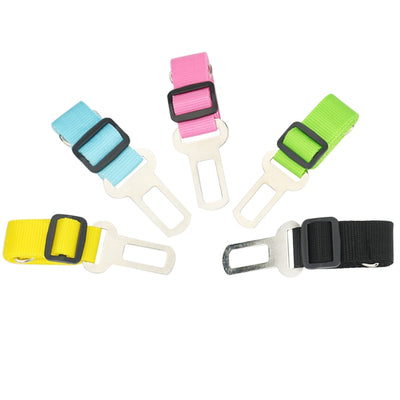 dog seat belt tether - colors