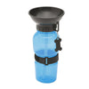 dog water bottle squeeze - Blue