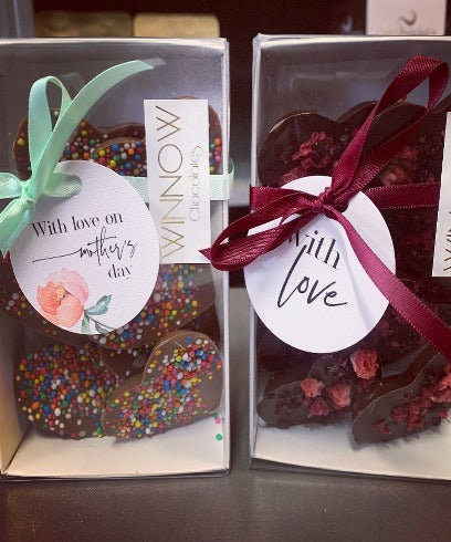Winnow Chocolate - Love hearts boxes