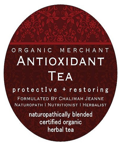 Organic Merchant Antioxidant Tea Jar 100g