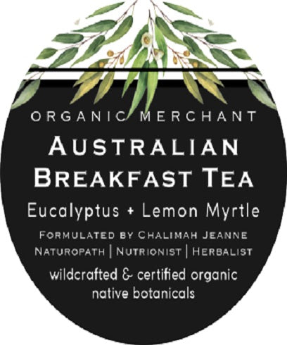 Organic Merchant Australian Breakfast Tea Jar 70g