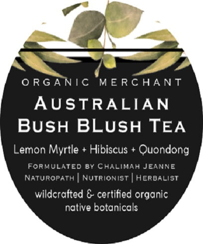 Organic Merchant Australian Bush Blush Tea Jar 80g