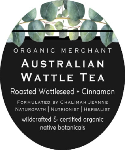 Organic Merchant Wattle Seed Tea Jar 80g