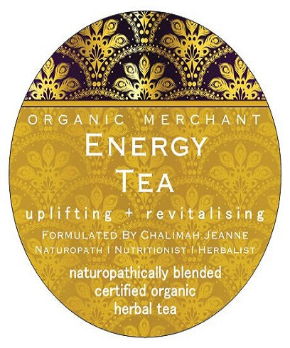 Organic Merchant Energy Tea Jar 80g