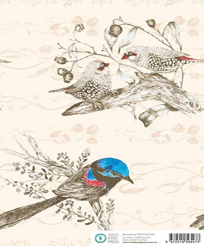 Finches & Wrens Gift Wrap