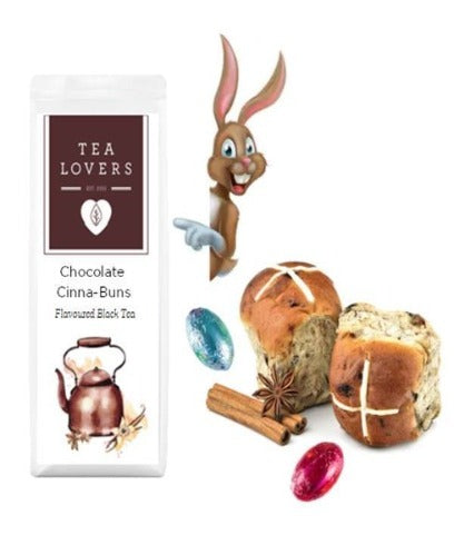 Chocolate Cinna-Buns Easter Tea