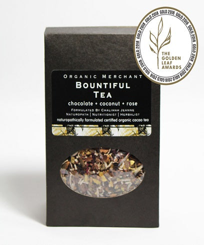 Organic Merchant Bountiful Tea Jar 80g